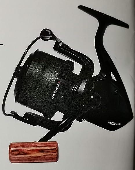 Sonik Vader X Black 8000 SPOD Reel with Braid