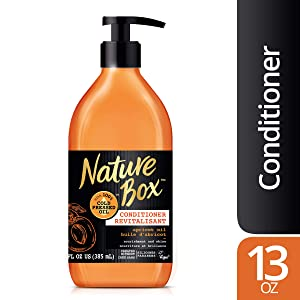 Nature Box Conditioner - for Nourishment & Shine, with 100% Cold Pressed Apricot Oil, 13 Ounce