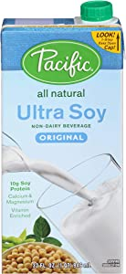 Pacific Natural Foods Ultra Soy Original, 32 Fl Oz (Pack of 12)