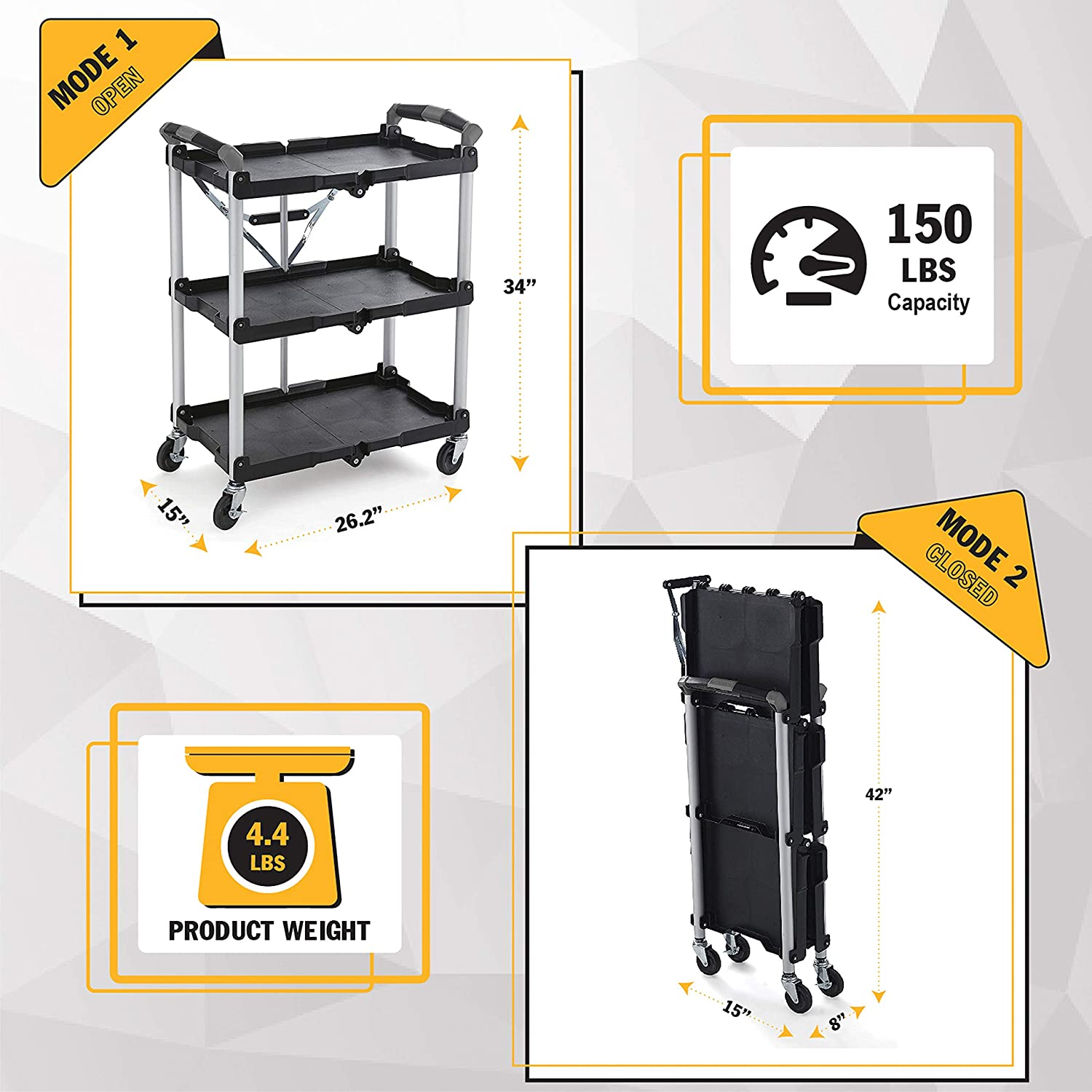 Portable Collapsible Cart