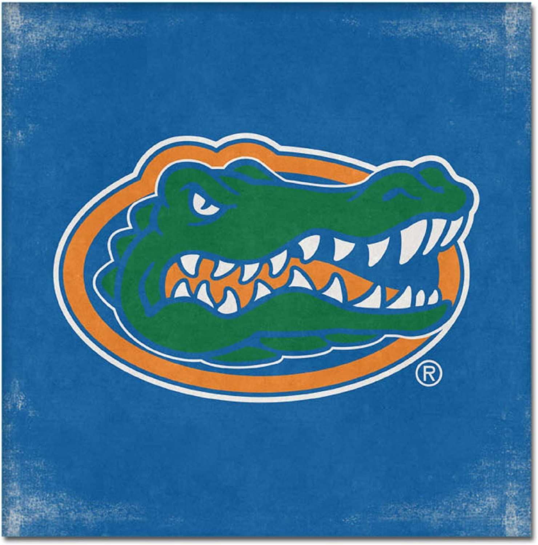NCAA Legacy Florida Gators Mini Canvas Art 9x9 One Size Custom