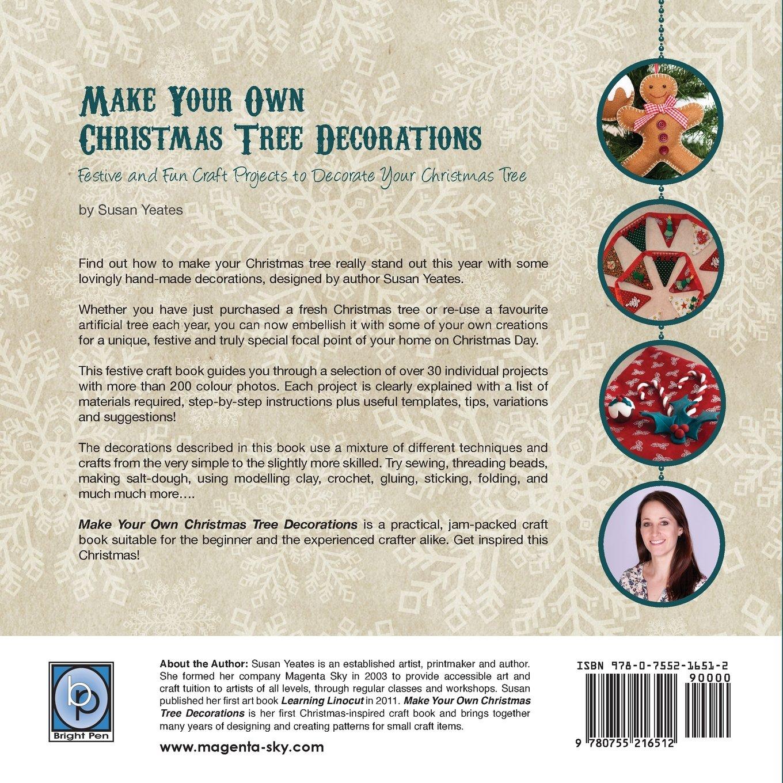 make your own christmas tree decorations amazon co uk susan