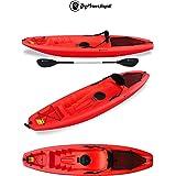 Gil Big Mama Kayak - Canoa Da 266 Cm + 1 Gavone + 1 Pagaia + 1 Seggiolino + 1 Ruotino ( Colore ROSSO)