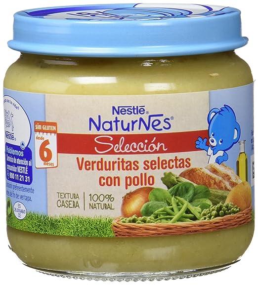 Nestlé Naturnes Tarrito Verduritas Selectas con Pollo a Partir de 6 Meses - 190 g