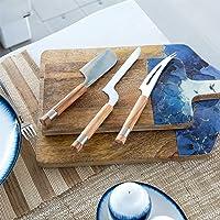 3 Parça Peynir Bıçağı Seti Natural