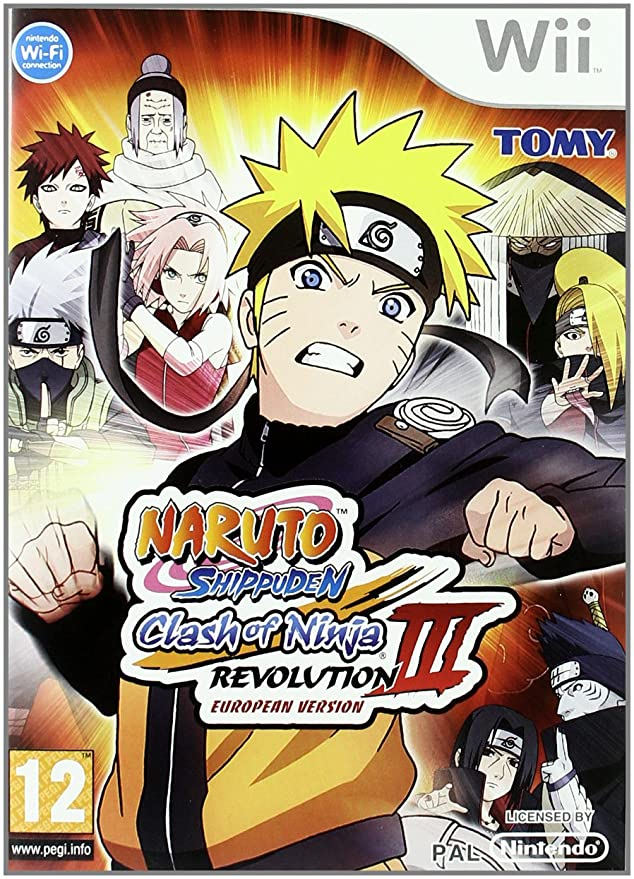 Wii Naruto Clash of Ninja Revolution 3: Amazon.es: Videojuegos