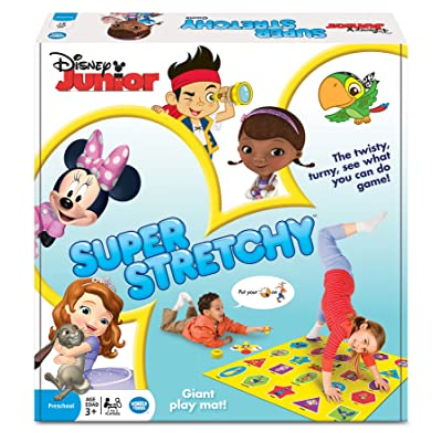 Disney Junior Super Stretchy Game: Toys & Games