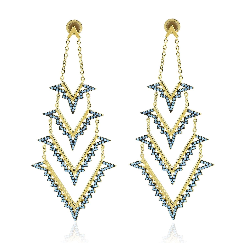 nOir Jewelry Sierra Nevada Earrings