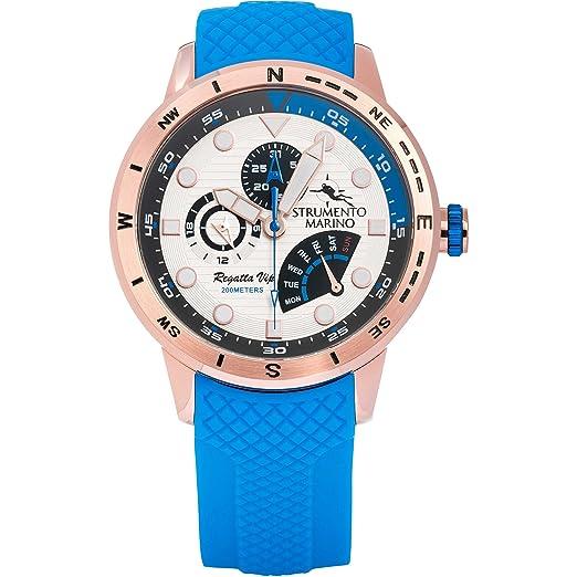 Reloj multifunción Hombre Instrumento Marino Regatta VIP Deportivo COD. sm128s/RG/BN/BL: Amazon.es: Relojes