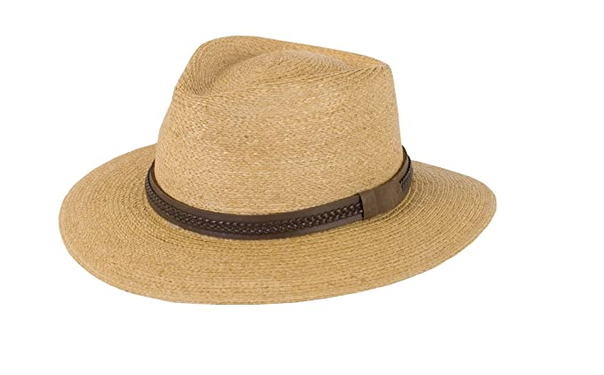 6d9269652 Tilley R11 Raffia Fedora Tea Stained S: Amazon.ca: Sports & Outdoors