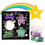 Shooting Star Rainbow Bath Bombs - Gift Set - Surprise Rainbow Colors, Organic Essential Oil & Shea Butter, Bubble Bomb…