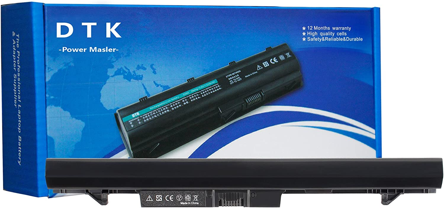 DTK RA04 708459-001 New Laptop Battery Replacement for HP ProBook 430 430-G1 430-G2 Notebook [ 14.8V 2200MAH Black ]