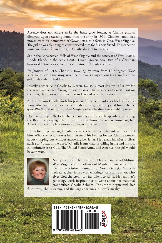 Loves Rivalry Nancy Carter 9781498481465 Amazon Books