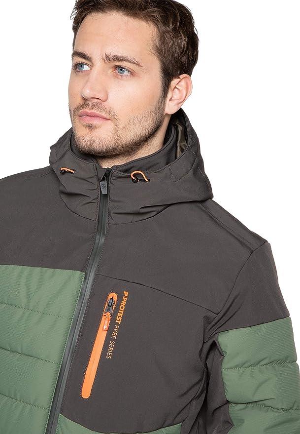 Protest Hommes Veste de ski MOUNT 20 20K imperm/éabilit/é/et/respirabilit/é
