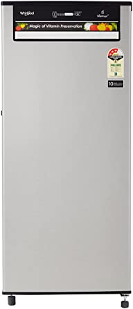 Whirlpool 200 L 3 Star Direct Cool Single Door Refrigerator(215 VITAMAGIC PRO PRM 3S, Alpha Steel)