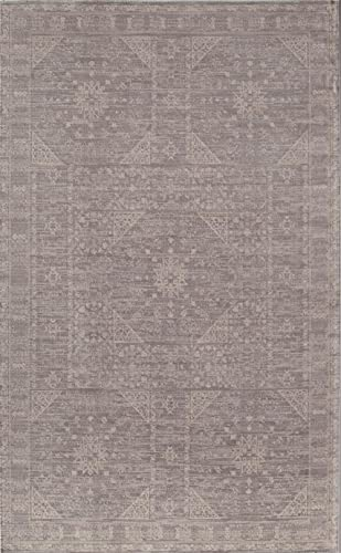 Rugs America Area Rug, 8-ft 0-in x 10-ft 0-in, Gray