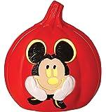 "Disney Mickey Mouse 6"" Light up Pumpkin"