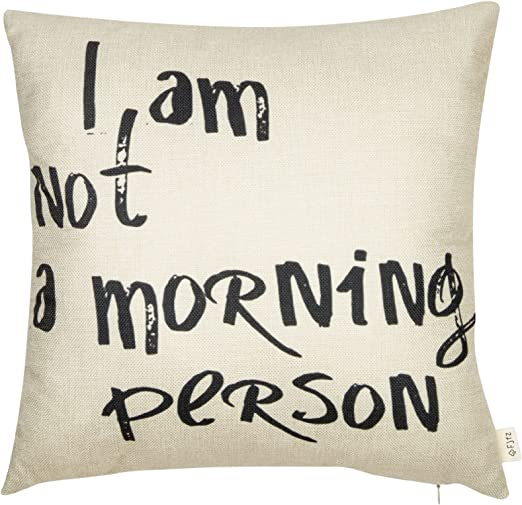 Grey Pillow Cover She Believed She Could So She Did Teen Room Decorative Pillows Quirky Covers Throw Pillow Cover With Words Gray Pillow Cover