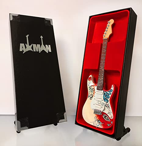 Jimi Hendrix: Monterey Stratocaster – Réplica de guitarra en ...