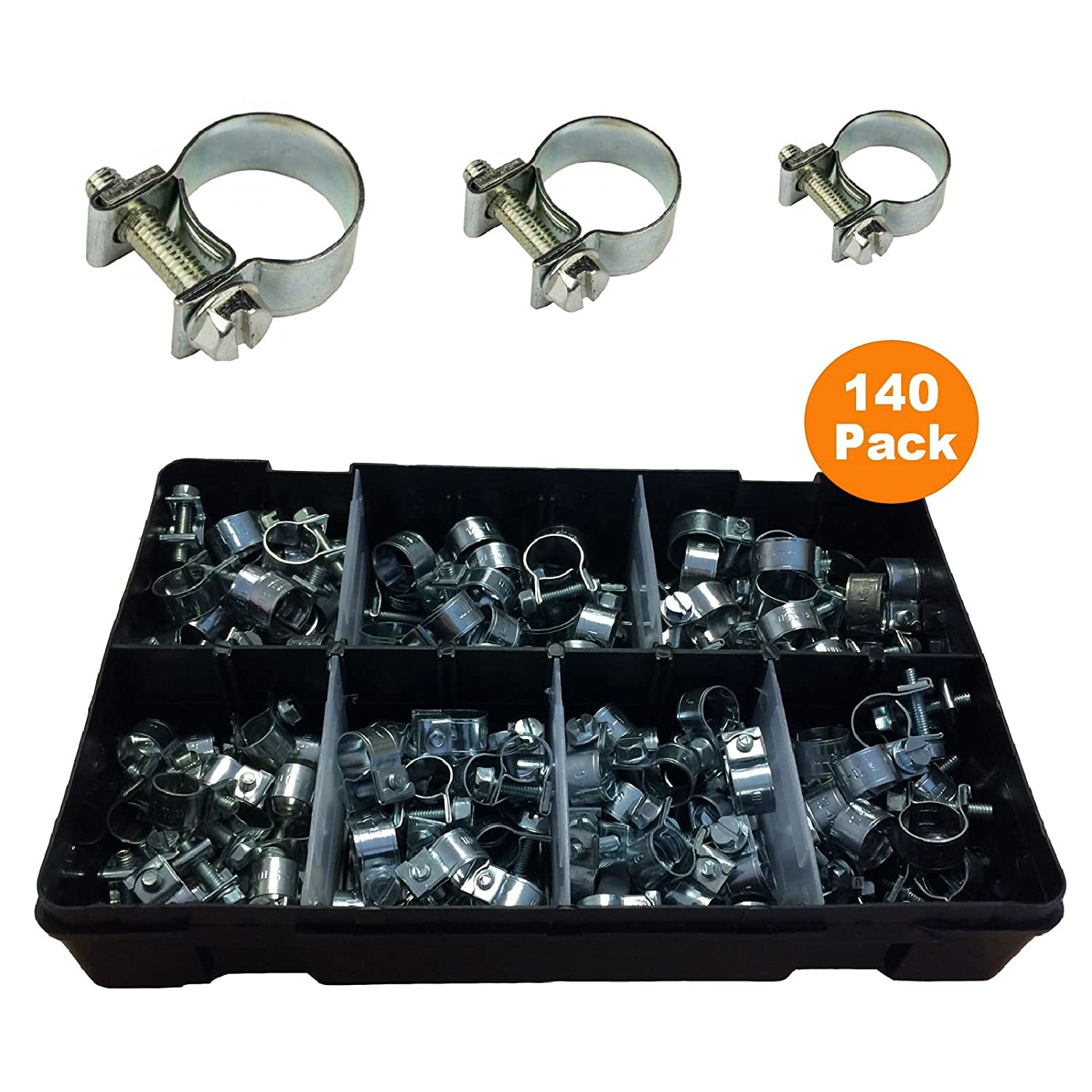 Homesmart stage-841 Assorted Mini Fuel Line Jubilee Hose Clips