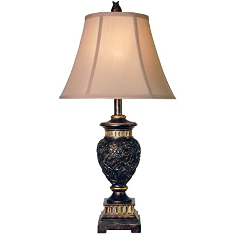 Collective Design 720354120291 Table Lamp Dark Blue And Gold