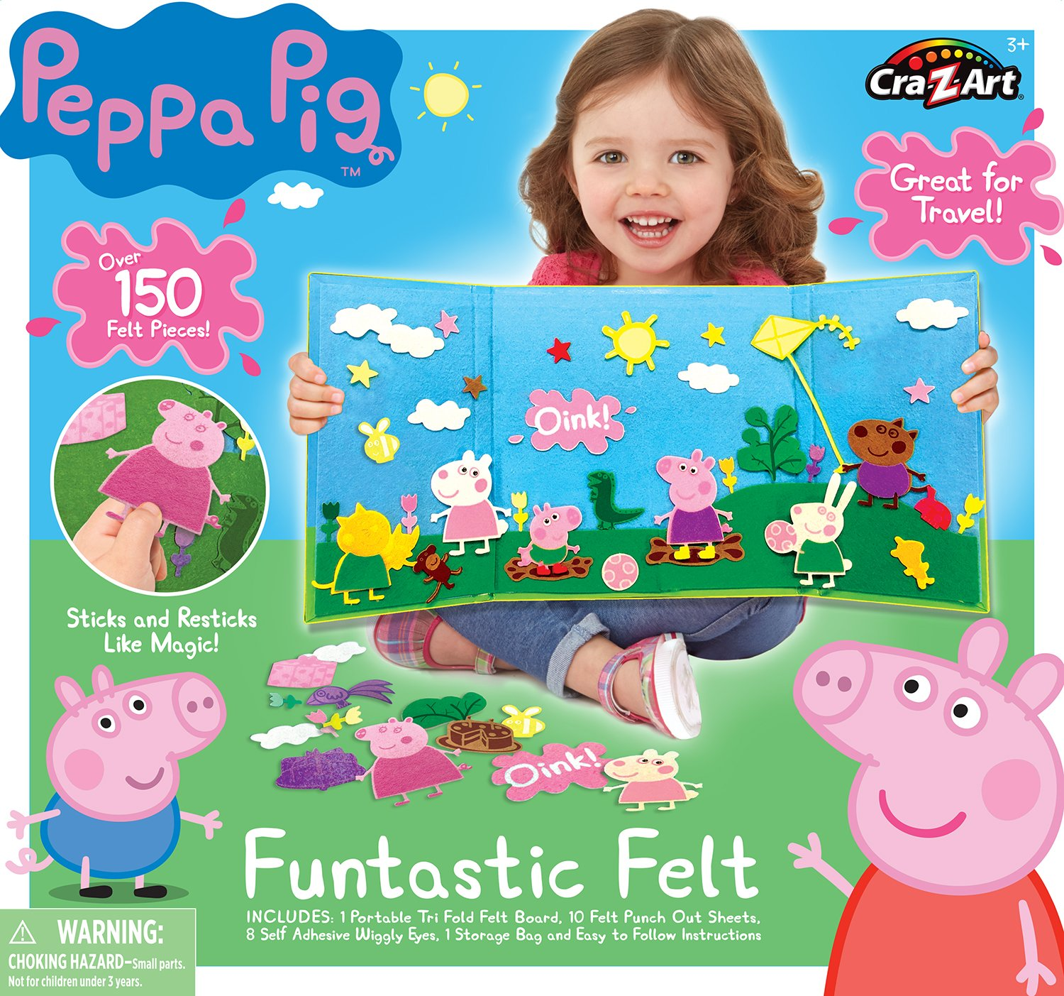 Cra-Z-Art Peppa Pig Feltastic Activity Kit Playset