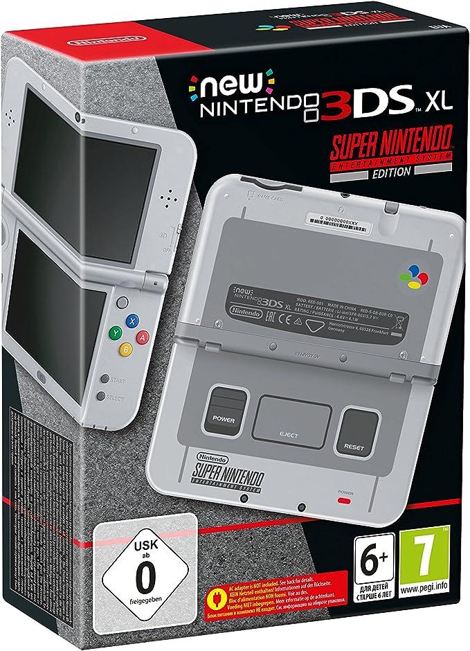 New Nintendo 3DS XL HW SNES Edition: Amazon.es: Videojuegos