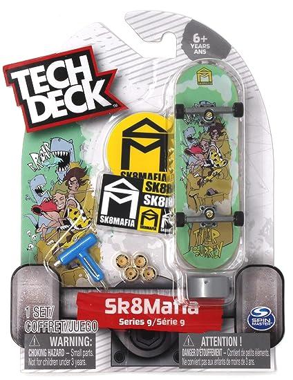 Amazon.com: Tech Deck Sk8Mafia Skateboards Ultra Rare Series ...