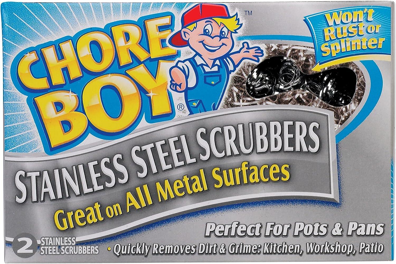24 Pack Chore Boy Non-Metallic Soap Pads