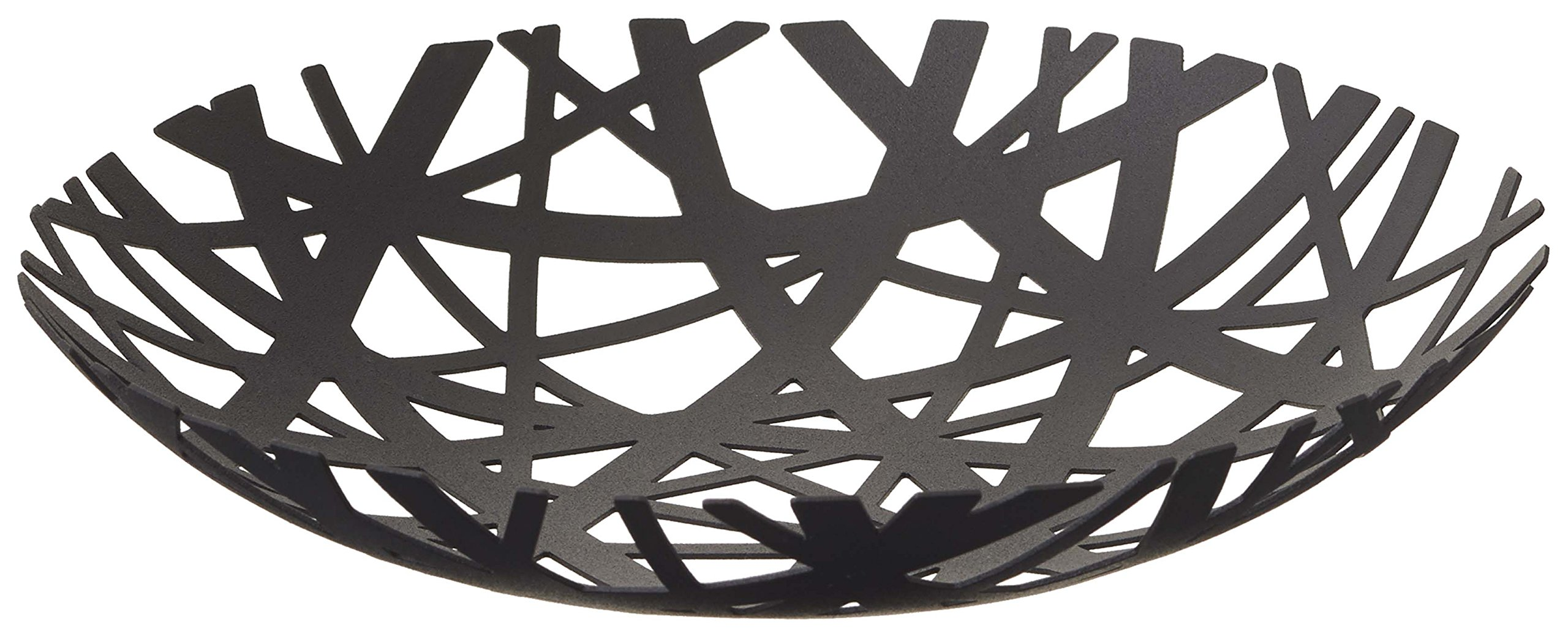 Red Co. Decorative Centerpiece Bowl in Black - Powder-Coated Steel by Red Co.