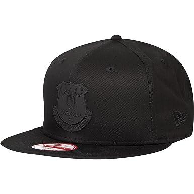 New Era Mens Gents Football Soccer Everton 9 Fifty Snapback Cap - Black - S  3e5050352a9