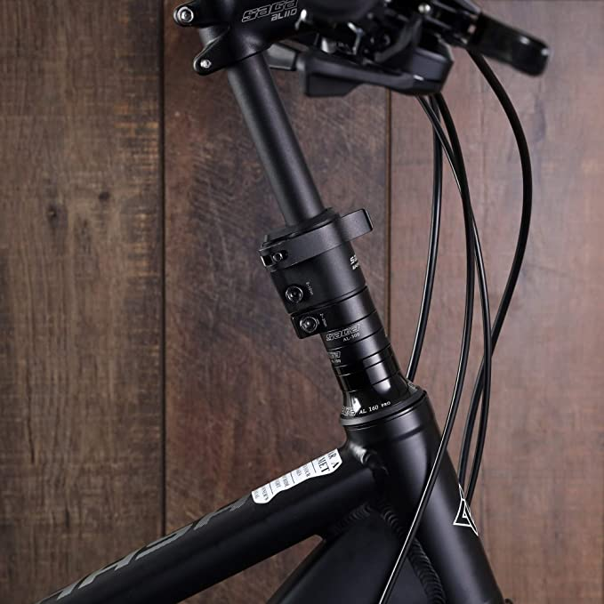 "SATORI UP2 E Bike Bicycle Riser Extension Adjustable Stem 1-1//8/"" x31.8mm x90mm"