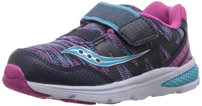 Navy Multi Saucony Kids' Baby Ride Pro Running chaussures 38 EU
