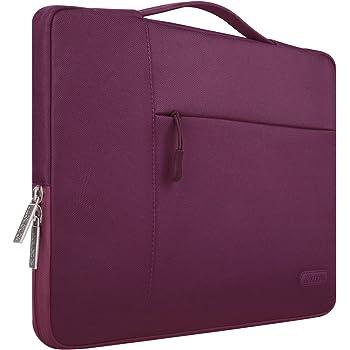 Mosiso Maletín Compatible MacBook 12 Pulgadas con Pantalla Retina A1534 (2017/2016 / 2015), Poliéster Protectora Multifuncional Funda Bolso, Vino Rojo