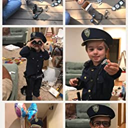 01f8d88c106 Amazon.com  Police Role Play Kit  (14 Pc Set)  Toys   Games