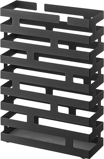 Amazon.com: YAMAZAKI, paragüero de ladrillos, Negro, L ...