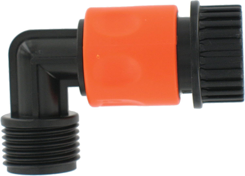 Valterra A01-0137VP Hose Quick Connect with 90° Hose Saver