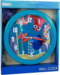 Finding Dory FDC120 10-inch round wall clock in open window box