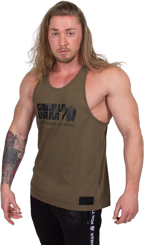 Gym Shirt Homme S /à 3XL Bodybuilding Muscle Fitness Muscle Shirt Gorilla Wear D/ébardeur Classique Stringer