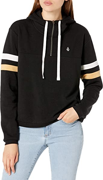 Volcom Womens Color Coded Hooded Fleece