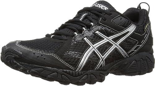 demasiado Walter Cunningham trigo  Asics Gel Trail Lahar GTX, Men's Running Shoes, Black/Silver/Lightening, 13  UK (49 EU): Amazon.co.uk: Shoes & Bags