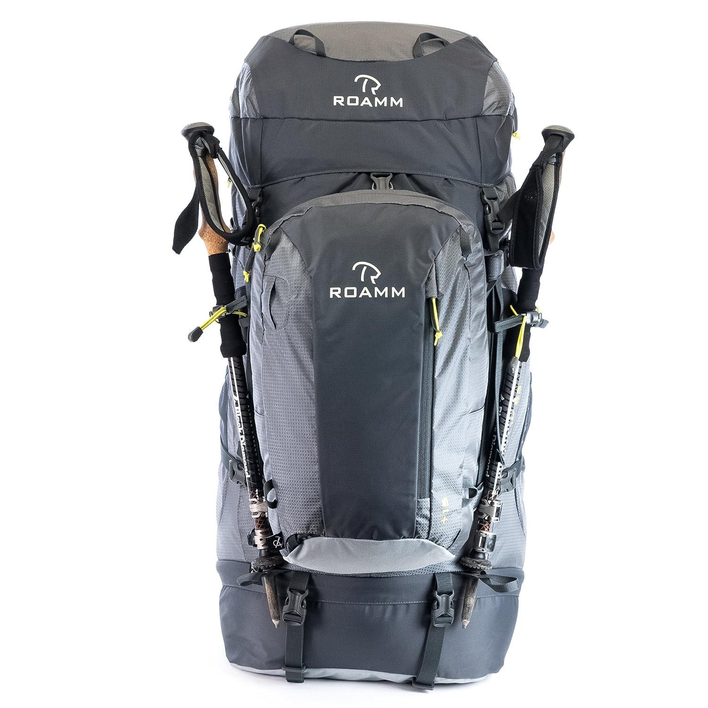 64f88119ef9f Roamm Nomad 65 +15 Backpack - 80L Liter Internal Frame Pack with Detachable  Daypack - Best Bag for Camping