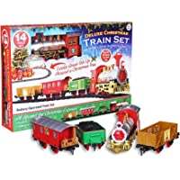 PMS Deluxe 14pc Christmas Train Set Festive Express