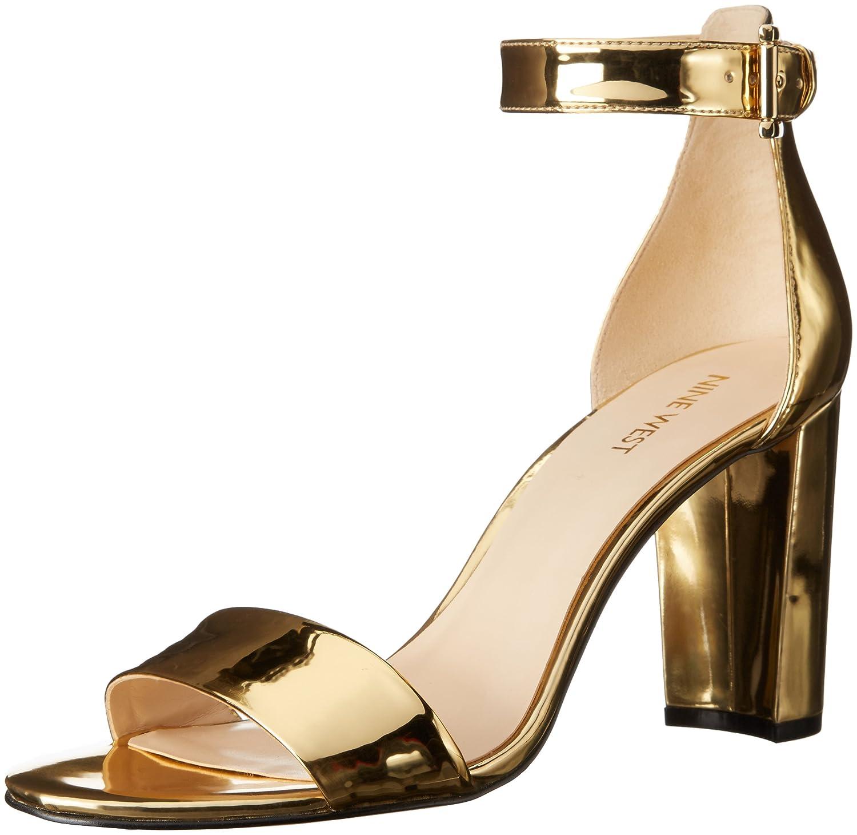 Black sandals nine west - Nine West Women S Nora Synthetic Reptile Dress Sandal