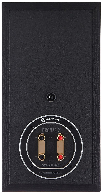 Altavoces Monitor Audio a 2 Vías Reflex (par) (Bronze 2 Black): Amazon.es: Electrónica