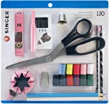 SINGER 01512 Beginner's Sewing Kit, 130 pieces
