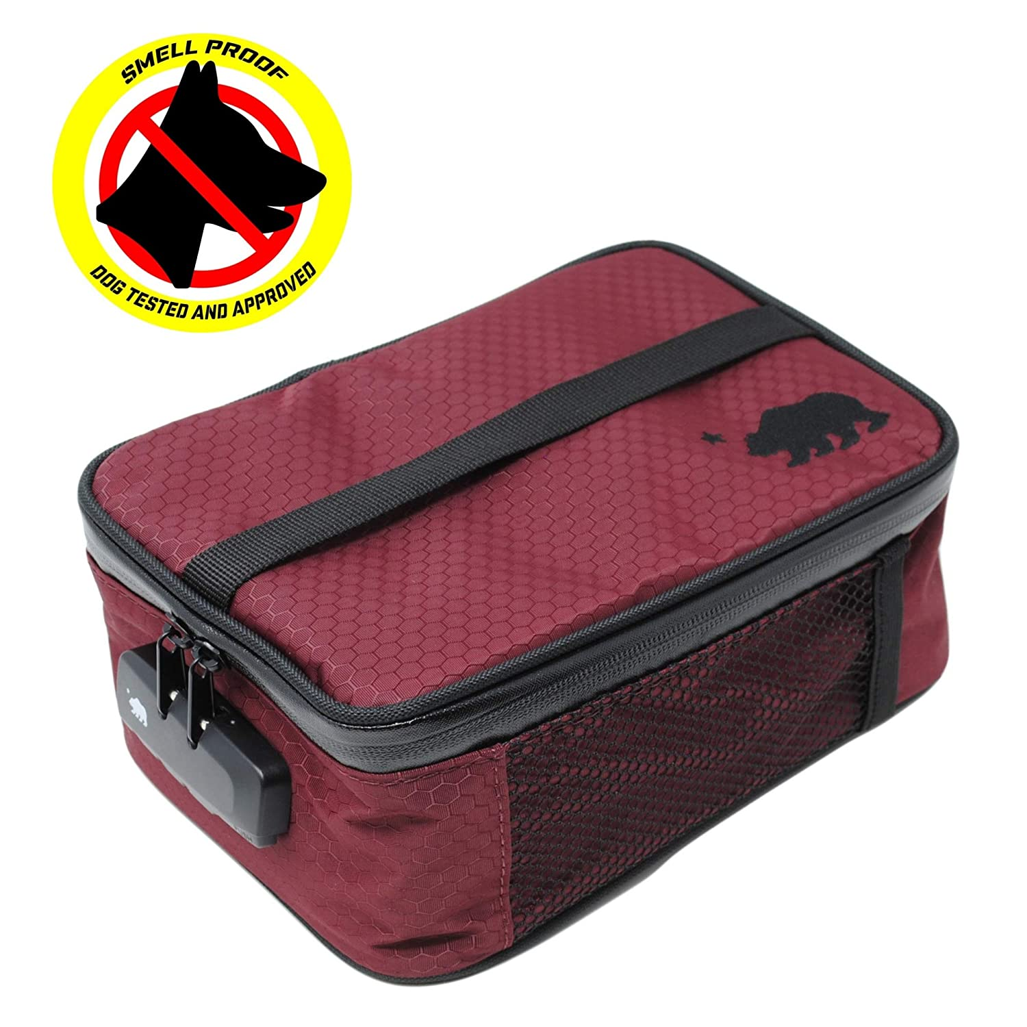 Cali Crusher 100% Smell Proof Soft Case w/Combo Lock (9x7x3.5) (Gray)