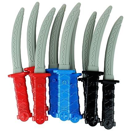 Amazon.com: Boley Ninja espadas – 12pc LED Luz y Sonido ...