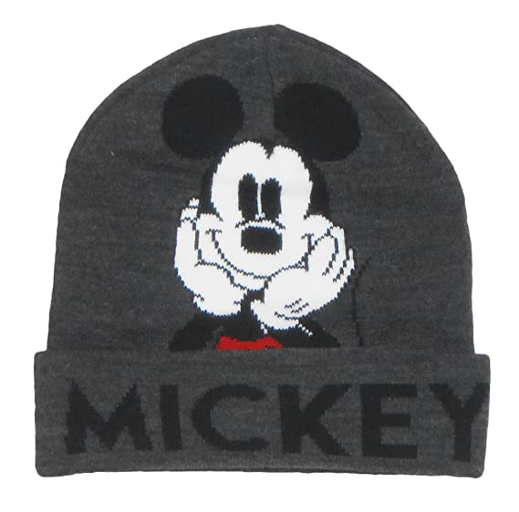 Amazon.com  Disney Mickey Mouse Beanie  Clothing c8ee3dd6a3e