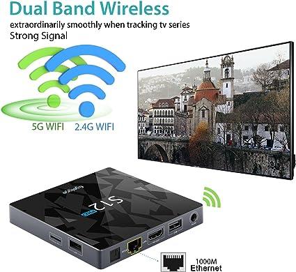 EgoIggo S12 Pro Android Box Amlogic S912 Octa Core Android 6.0 2GB / 32GB / 1000M LAN Wi-Fi 2.4G + 5G Bluetooth4.1 Android Box: Amazon.es: Electrónica